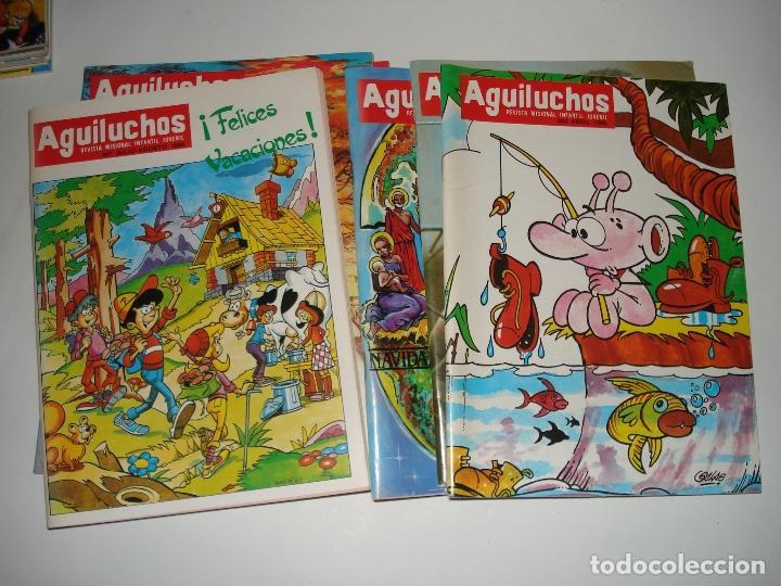9 NUMEROS DE LA REVISTA INFANTIL AGUILUCHOS DEL AÑOS 1988 (Libros Nuevos - Literatura Infantil y Juvenil - Literatura Infantil)