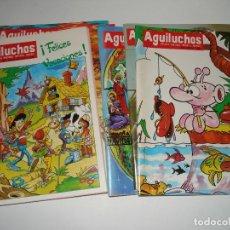 Libros: 9 NUMEROS DE LA REVISTA INFANTIL AGUILUCHOS DEL AÑOS 1988. Lote 109159239