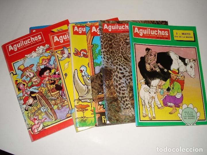 8 NUMEROS DE LA REVISTA INFANTIL AGUILUCHOS DE LOS AÑOS 1988 (Libros Nuevos - Literatura Infantil y Juvenil - Literatura Infantil)