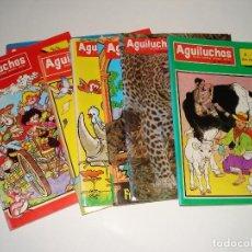 Libros: 8 NUMEROS DE LA REVISTA INFANTIL AGUILUCHOS DE LOS AÑOS 1988. Lote 109159343