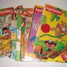 Libros: 8 NUMEROS DE LA REVISTA INFANTIL AGUILUCHOS DEL AÑO 1986. Lote 109159451