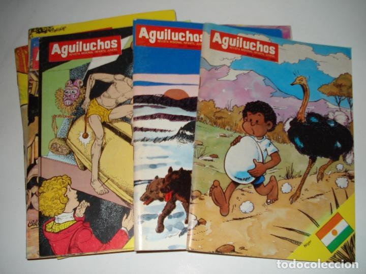 10 NUMEROS DE LA REVISTA INFANTIL AGUILUCHOS DEL AÑO 1985 (Libros Nuevos - Literatura Infantil y Juvenil - Literatura Infantil)