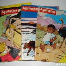Libros: 10 NUMEROS DE LA REVISTA INFANTIL AGUILUCHOS DEL AÑO 1985. Lote 109159567