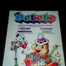 Libros: COLECCIONABLES LIBRO GORDO DE PETETE. Lote 109315340