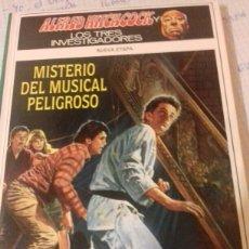 Libros: ALFRED HITCHCOCK Y LOS TRES INVESTIGADORES MISTERIO DEL MUSICAL PELIGROSO. Lote 109318248