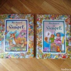 Libros: LITERATURA INFANTIL. MIS CLÁSICOS DE SIEMPRE.V1Y2 .EDICIONES SALDAÑA SA. Lote 112398754
