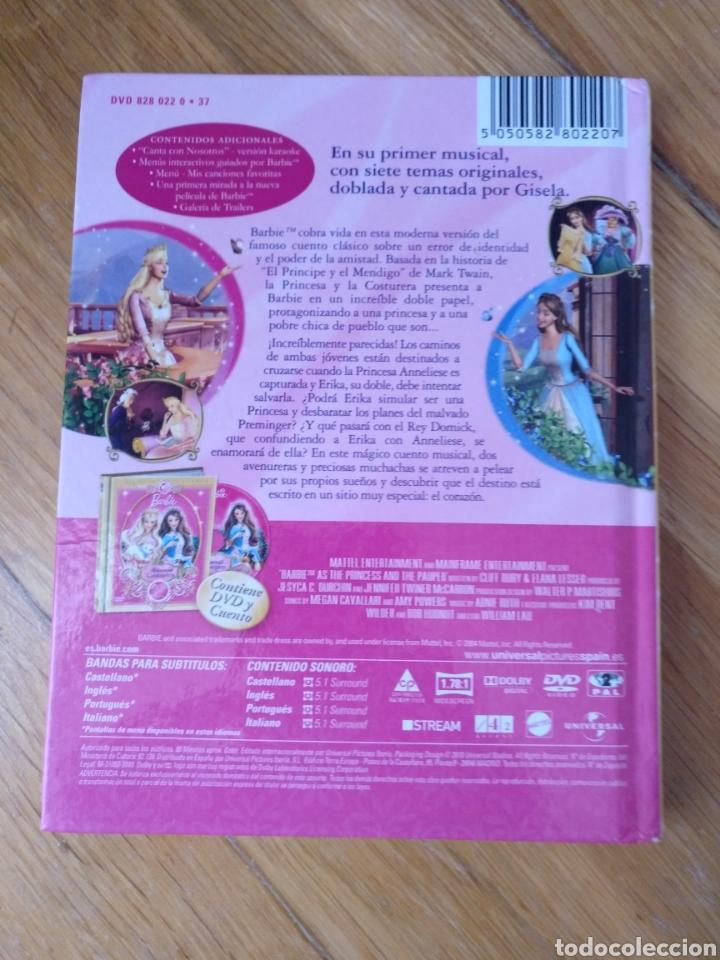 Libros: Literatura infantil.La bella durmiente y Barbie:Princesa Rapunzel.La princesa y la Costurera - Foto 3 - 112401012