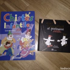 Libros: 2 LIBRO INFANTIL.CHISTES INFANTILES.TASMA EL FANTASMA.JACQUES DUQUENNOY.. Lote 112452258