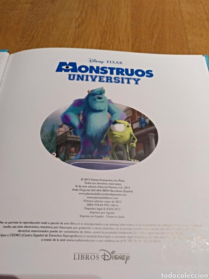 Libros: Lote 3 Libro LIBRO.Infantil. Monstruos University Disney. Caillou y todo es Rosie. - Foto 5 - 112454950