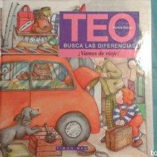 Libros: LIBRO INFANTIL DE TEO VAMOS DE VIAJE. Lote 112814240