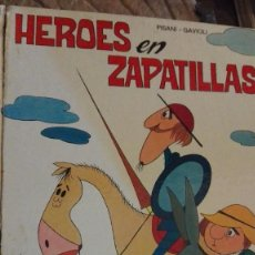 Libros: ÁNGEL PISANI. HÉROES EN ZAPATILLAS. RM76307.. Lote 113059475