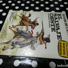 Libros: LIBROJUEGO JUEGOS DE BATALLAS EL SALVAJE OESTE NUMERO 1. Lote 117245479