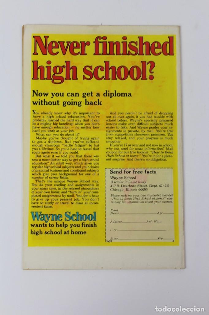 Libros: RV-54. MARVEL TALES . SPIDERMAN. IN THE BLAZE OF BATTLE! Nº 58. 1975. - Foto 2 - 120224791
