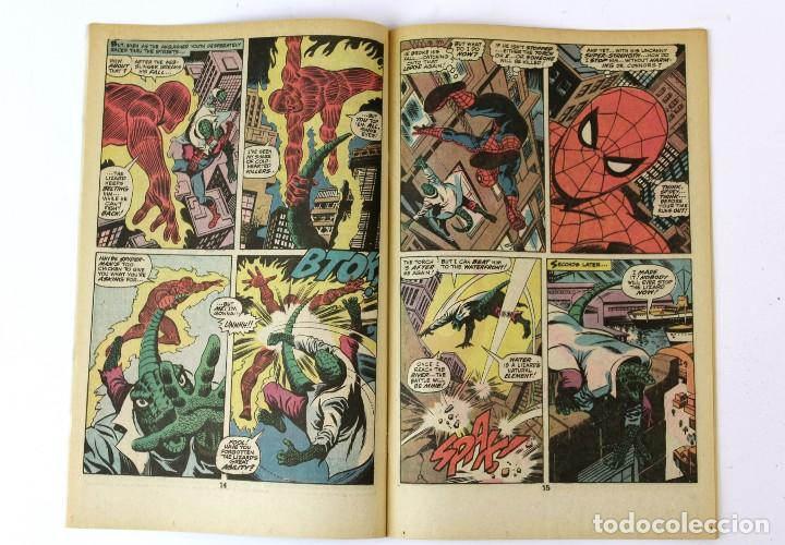 Libros: RV-54. MARVEL TALES . SPIDERMAN. IN THE BLAZE OF BATTLE! Nº 58. 1975. - Foto 3 - 120224791