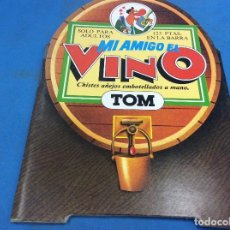 Libros: MI AMIGO EL VINO TOM. Lote 126976455
