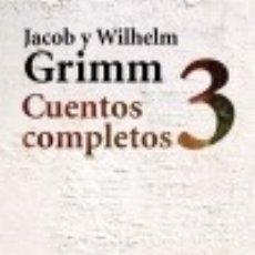 Libros: CUENTOS COMPLETOS, 3 ED. ALIANZA. Lote 71569482