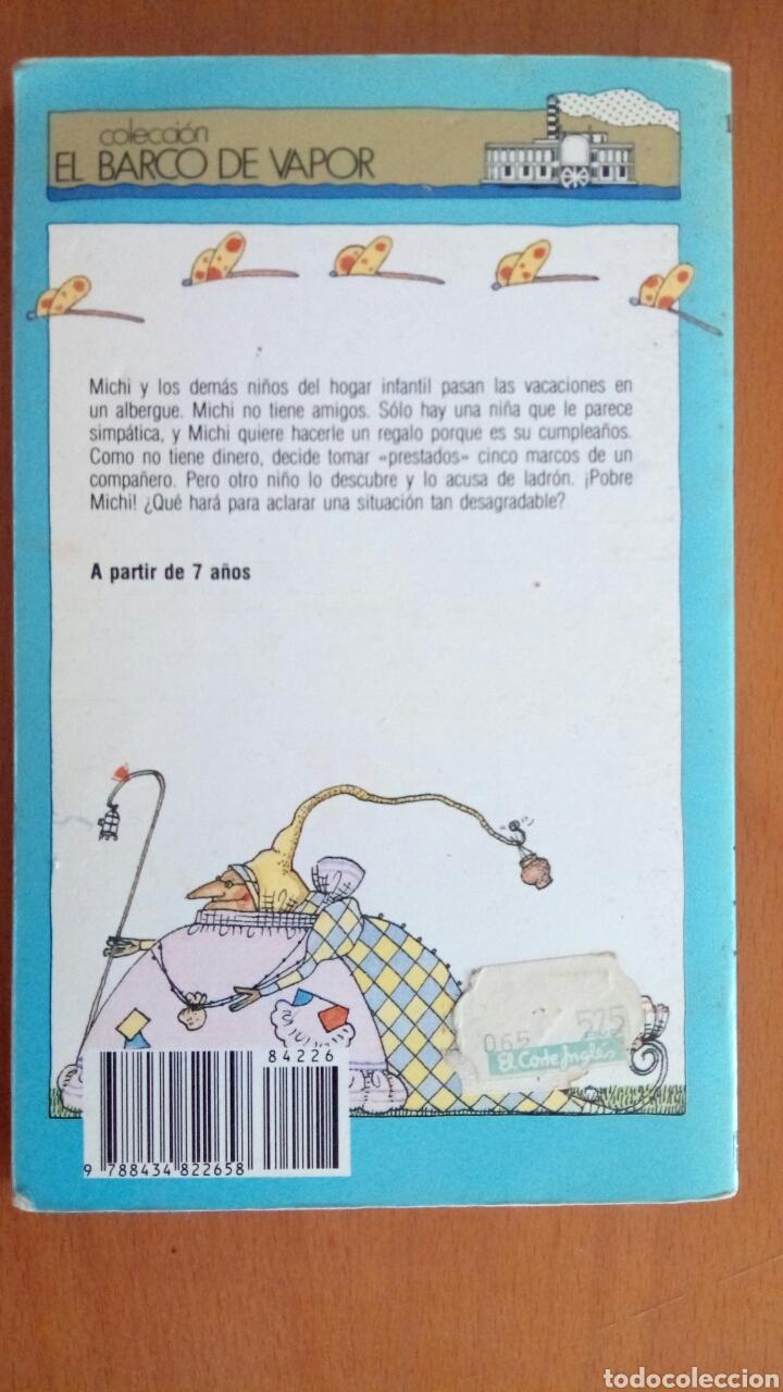 Libros: La Moneda de 5 marcos. El barco de vapor. - Foto 2 - 133090215