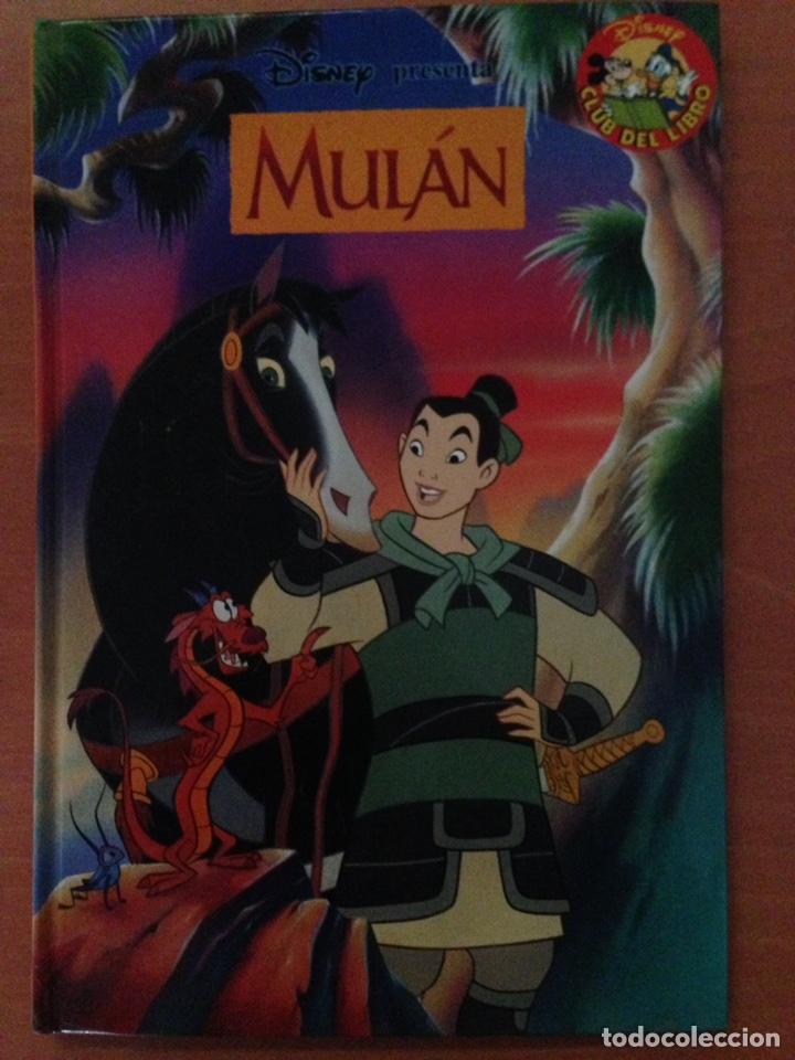 MULAN,CLUB DEL LIBRO DISNEY,AÑO 2004 (Libros Nuevos - Literatura Infantil y Juvenil - Literatura Infantil)