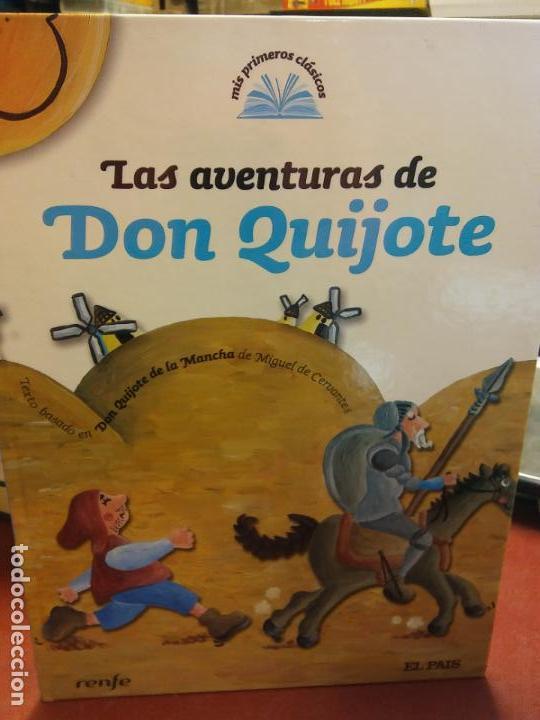 BJS.LAS AVENTURAS DE DON QUIJOTE.EDT EL PAIS. . (Libros Nuevos - Literatura Infantil y Juvenil - Literatura Infantil)