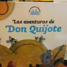 Libros: BJS.LAS AVENTURAS DE DON QUIJOTE.EDT EL PAIS. .. Lote 136546566