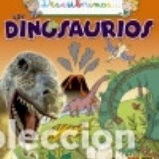 Libros: DESCUBRIMOS LOS DINOSAURIOS. Lote 140366789