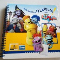 Libros: DESCUBRE LA FILATELIA. LOS LUNNIS. Lote 140459238