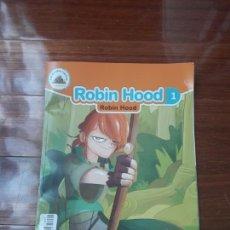 Libros: BIBLIOTECA INFANTIL #ROBIN HOOD#CUENTO.INGLÉS-ESPAÑOL. Lote 142781744