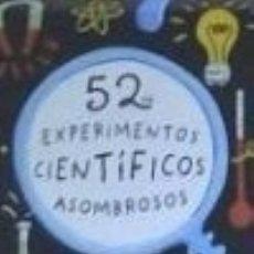 Libros: BARAJA 52 EXPERIMENTOS CIENTIFICOS ASOMBROSOS. Lote 142840468