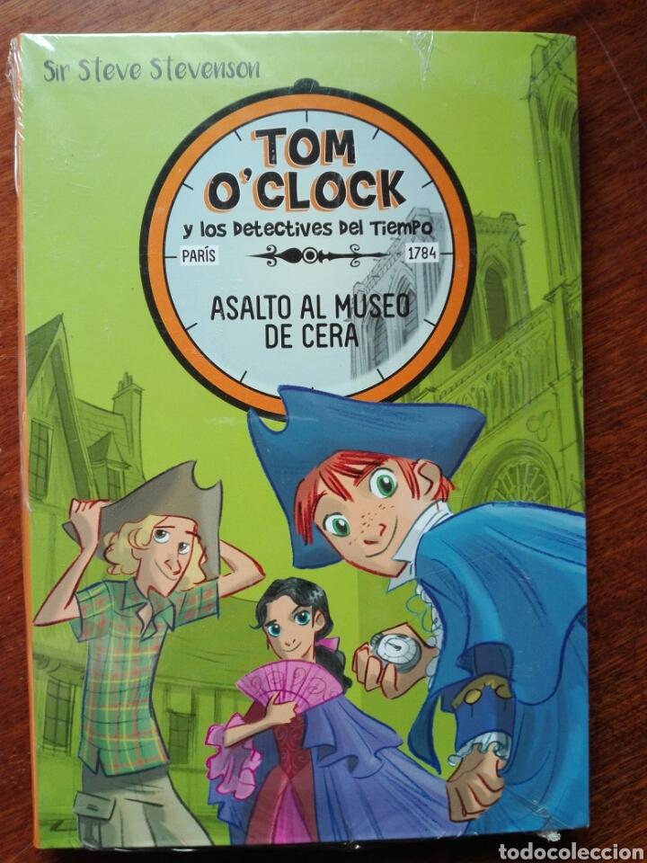 TOM O CLOCK Y LOS DETECTIVES DEL TIEMPO. ASALTO AL MUSEO DE CERA. SIR STEVE STEVENSON NUEVO. (Libros Nuevos - Literatura Infantil y Juvenil - Literatura Infantil)
