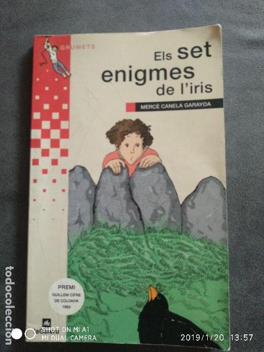 ELS SET ENIGMES DE L'IRIS. MERCE CANELA GARAYOA (Libros Nuevos - Literatura Infantil y Juvenil - Literatura Infantil)