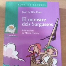 Libros: EL MONSTRE DELS SARGASSOS (JOAN DE DÉU PRATS). Lote 147937126
