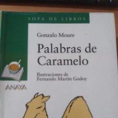 Libros: PALABRAS DE CARAMELO. GONZALO MOURE. Lote 147939306