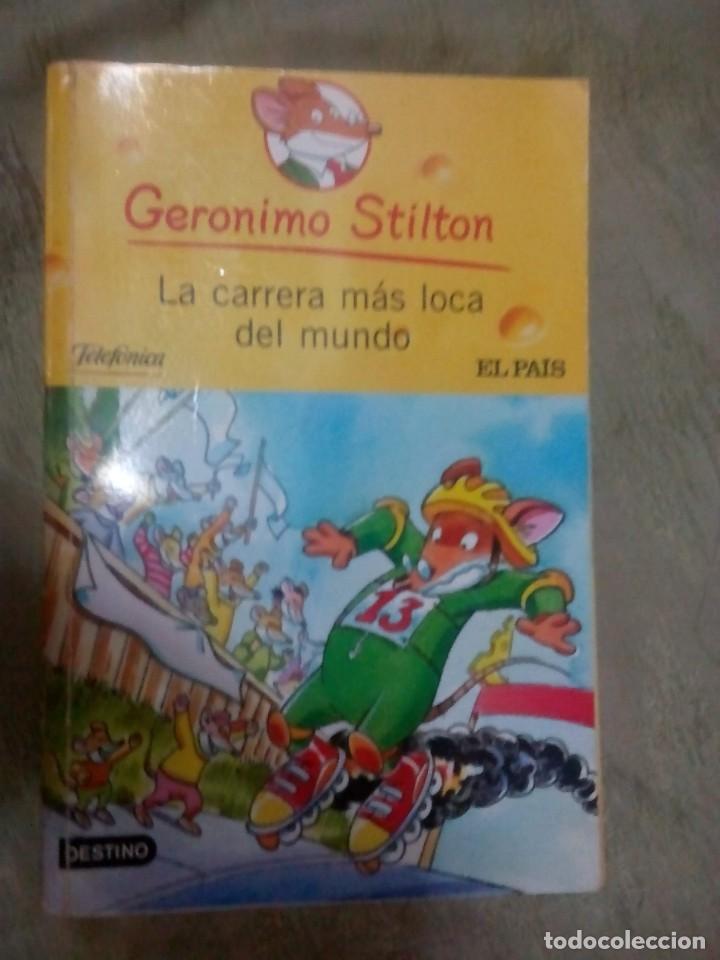 LIBRO GERONIMO STILTON. LA CARRERA MÁS LOCA DEL MUNDO. DESTINO (Libros Nuevos - Literatura Infantil y Juvenil - Literatura Infantil)