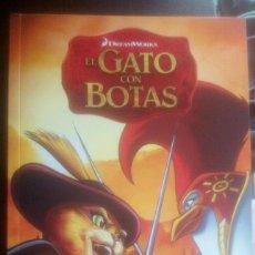 Libros: EL GATO CON BOTAS. EL ESPADACHÍN DE RANCHO CASTILLO ,LIBROS DE LECTURA, DREAMWORKS ANIMATION. Lote 151080050