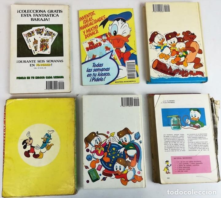Libros: LOTE DE 5 EJEMPLARES WALT DISNEY. VV. AA. VV. EDITORIALES. 1974/1987 - Foto 2 - 155195006