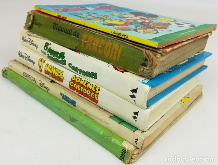 Libros: LOTE DE 5 EJEMPLARES WALT DISNEY. VV. AA. VV. EDITORIALES. 1974/1987 - Foto 3 - 155195006