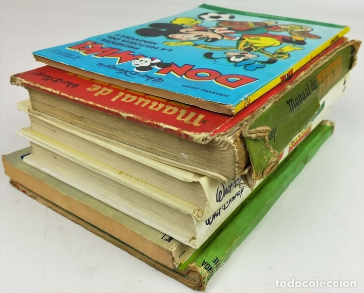 Libros: LOTE DE 5 EJEMPLARES WALT DISNEY. VV. AA. VV. EDITORIALES. 1974/1987 - Foto 6 - 155195006