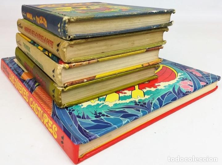 Libros: 4 EJEMPLARES WALT DISNEY. 1 HANNA-BARBERA. VV. AA. EDICIONES MONTENA. S.A. 1972/1983 - Foto 4 - 155205602