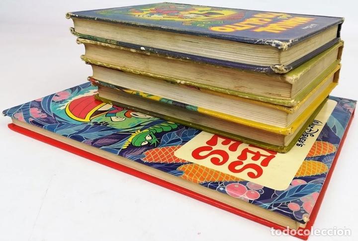 Libros: 4 EJEMPLARES WALT DISNEY. 1 HANNA-BARBERA. VV. AA. EDICIONES MONTENA. S.A. 1972/1983 - Foto 6 - 155205602
