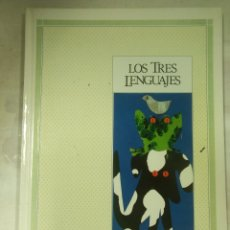 Libri: LOS TRES LENGUAJES. Lote 158013158