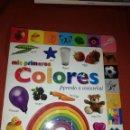 Libros: LIBROS MIS PRIMEROS COLORES. Lote 160304465