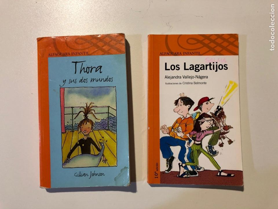 LITERATURA INFANTIL ALFAGUARA. THORA Y SUS DOS MUNDOS.LOS LAGARTIJOS (Libros Nuevos - Literatura Infantil y Juvenil - Literatura Infantil)