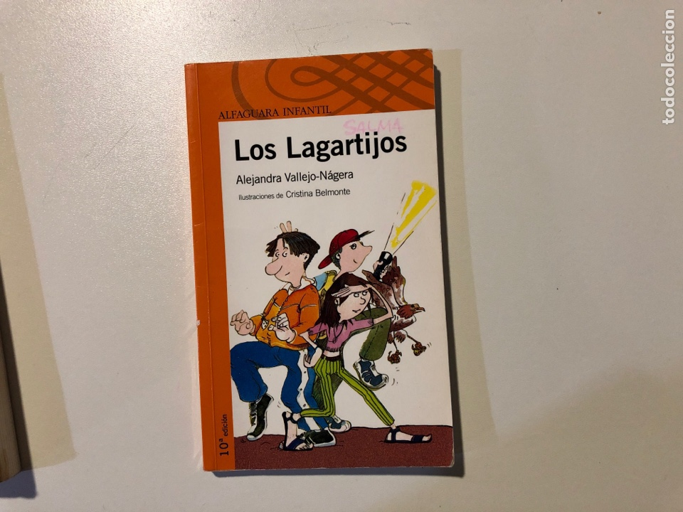 Libros: Literatura infantil Alfaguara. Thora y sus dos mundos.Los Lagartijos - Foto 2 - 160311558