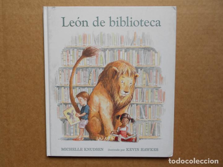 LEÓN DE BIBLIOTECA - KNUDSEN, MICHELLE - NUEVO (Libros Nuevos - Literatura Infantil y Juvenil - Literatura Infantil)