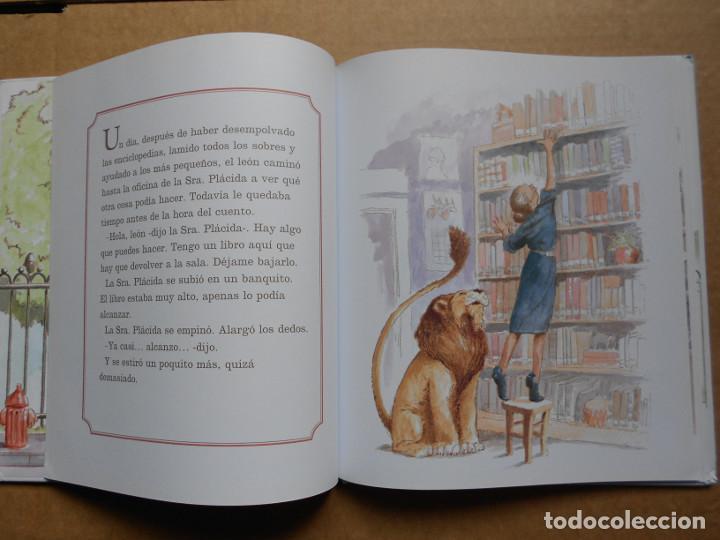 Libros: LEÓN DE BIBLIOTECA - KNUDSEN, MICHELLE - NUEVO - Foto 2 - 160468410