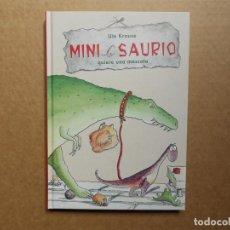 Libros: MINI SAURIO QUIERE UNA MASCOTA - UTE KRAUSE - NUEVO. Lote 160484962