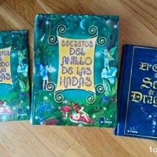 Libros: LIBRO INFANTIL (2 + CAJA).HADAS Y DRAGONES. EDICIONES PIRUETA.DOMINIQUE GUARD.LEO HARTAS.. Lote 112391820