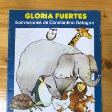 Libros: LOTE DE 3 CUENTOS DE GLORIA FUERTES.. Lote 167474568
