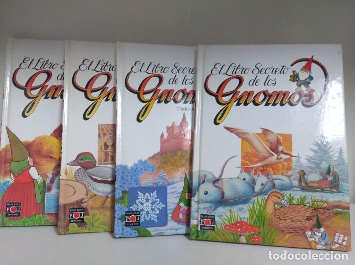 LOTE DE 4 LIBROS EL LIBRO SECRETO DE LOS GNOMOS PARA NIÑOS COLECCION DE TOMOS (Libros Nuevos - Literatura Infantil y Juvenil - Literatura Infantil)