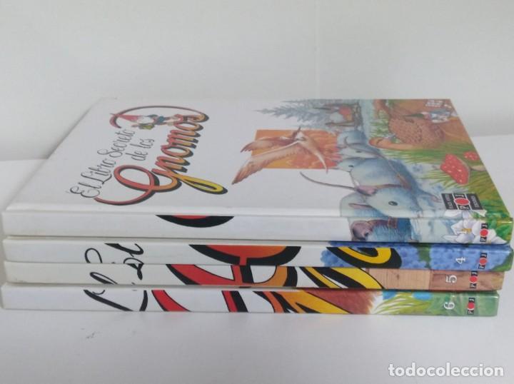 Libros: LOTE DE 4 LIBROS El libro secreto de los Gnomos PARA NIÑOS COLECCION DE TOMOS - Foto 2 - 169067056